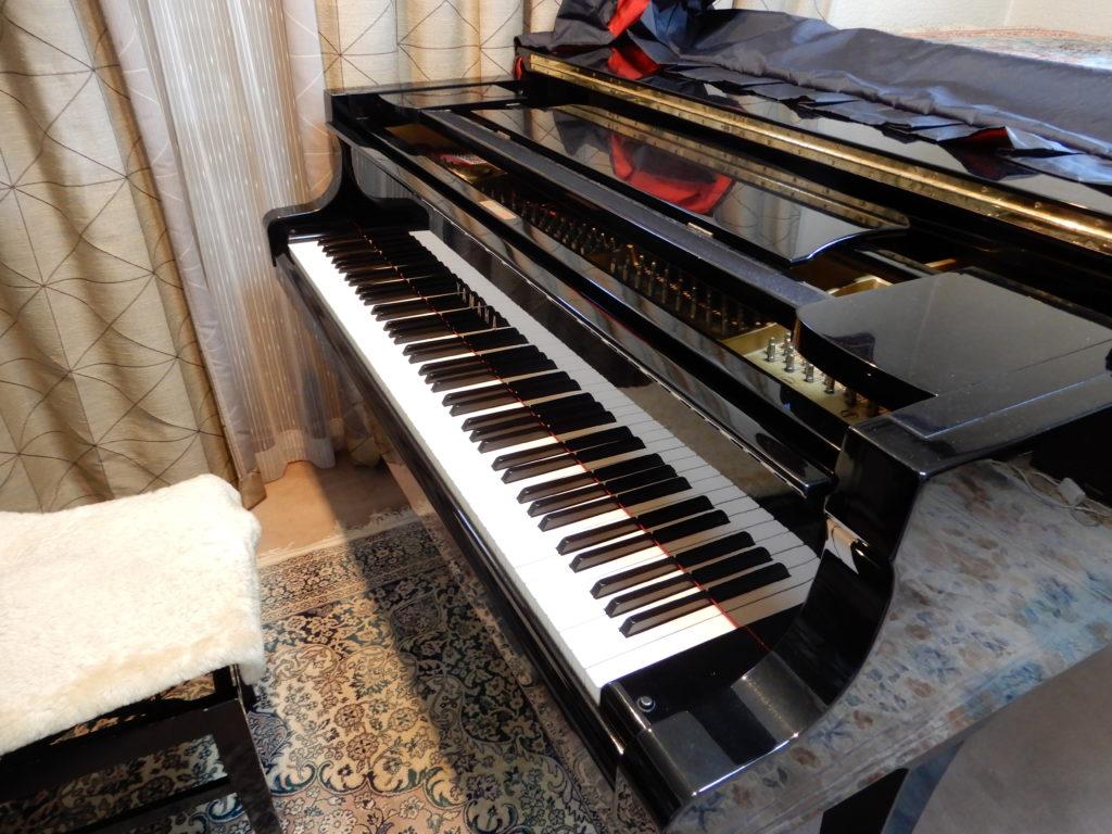須藤ピアノ教室のレッスン室